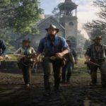 Screenshot dallo story trailer di Red Dead Redemption 2