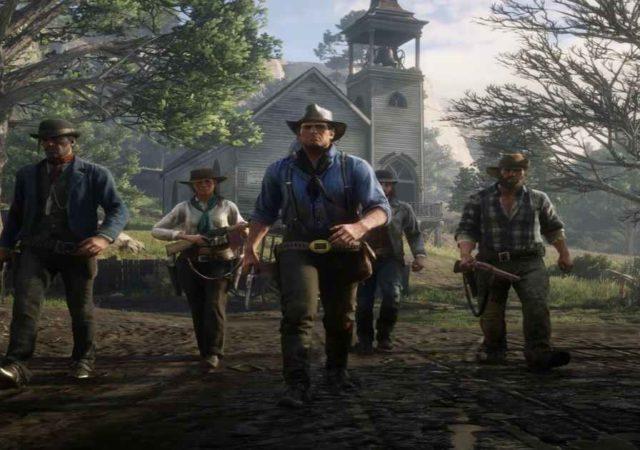 Screenshot dallo story trailer di Red Dead Redemption 2
