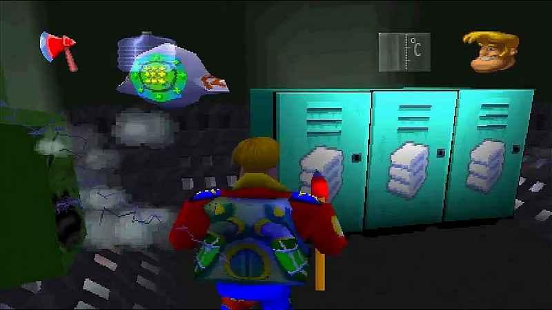 Screen del gioco Rosco McQueen
