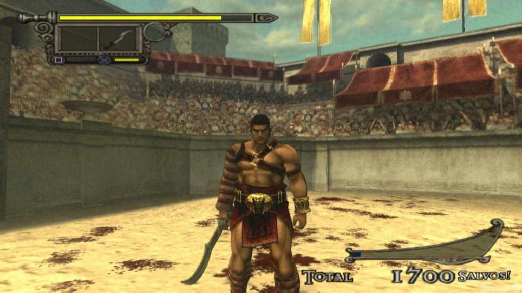 shadow of rome, gioco per PS2 ambientato nell'antica roma