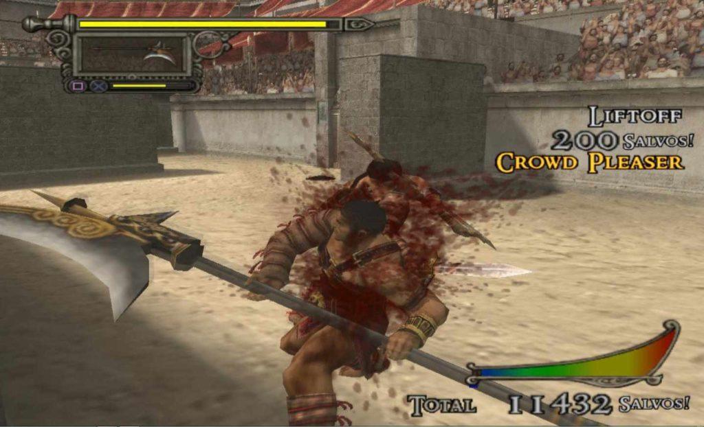 shadow of rome uscì nel 2005 su PS2
