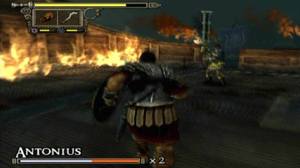 shadow of rome, boss fight