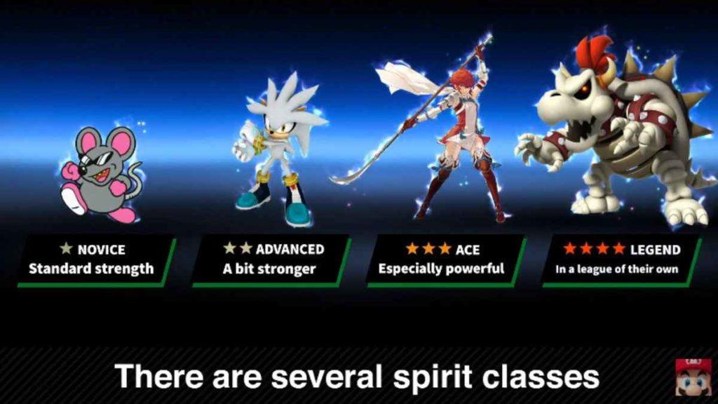 Super Smash Bros Ultimate spirit board