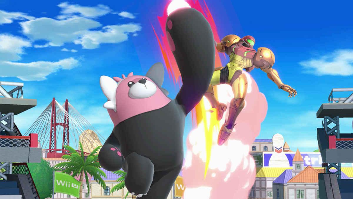 Il nuovo Pokemon Bewear prende a pugni Samus Aran su Super Smash Bros Ultimate