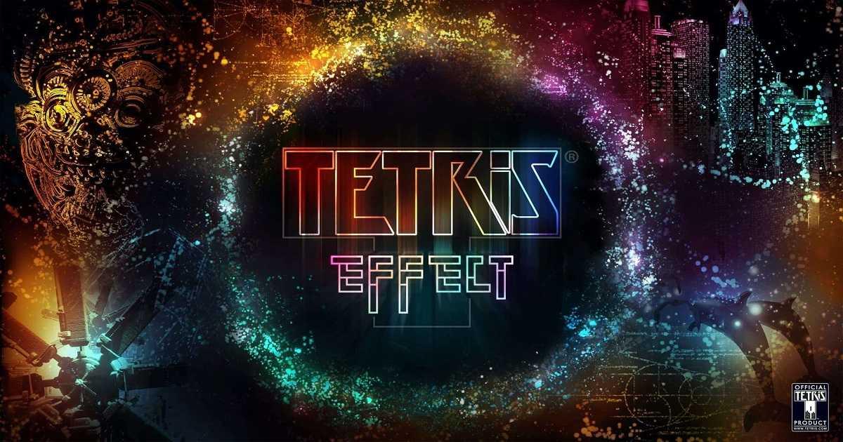 anteprima di tetris effect
