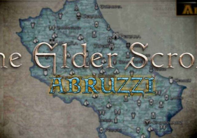 the elders scrolls abruzzi