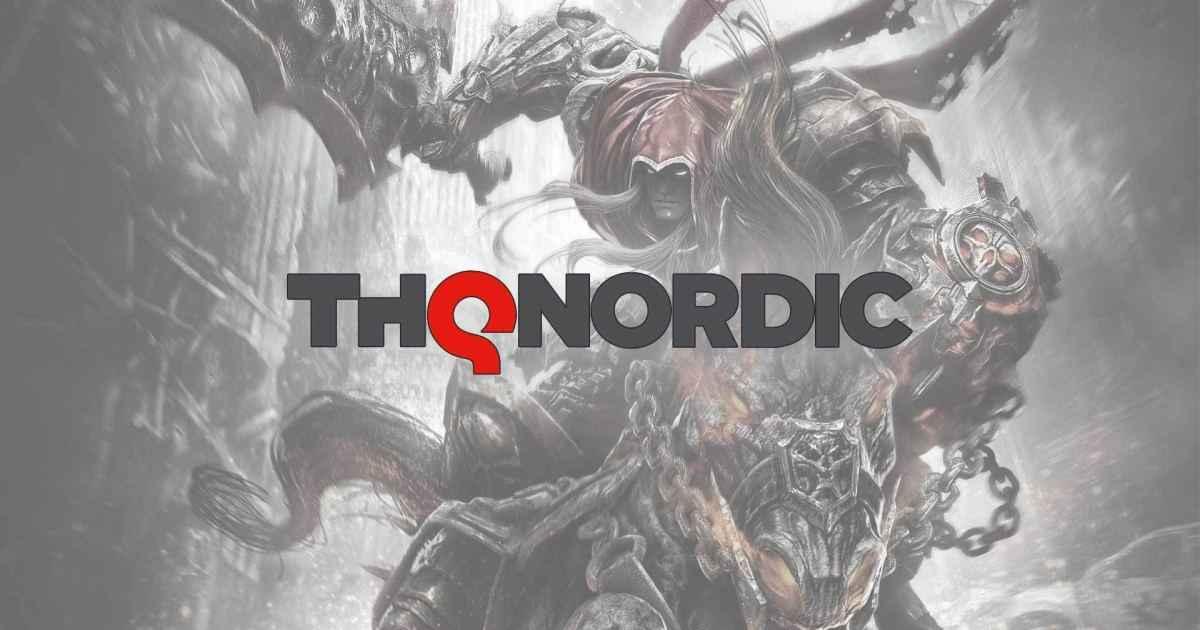 THQ Nordic logo ufficiale darksiders 1 sfondo