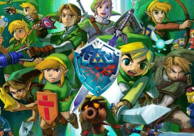 Nintendo the legend of zelda cover nintendo switch