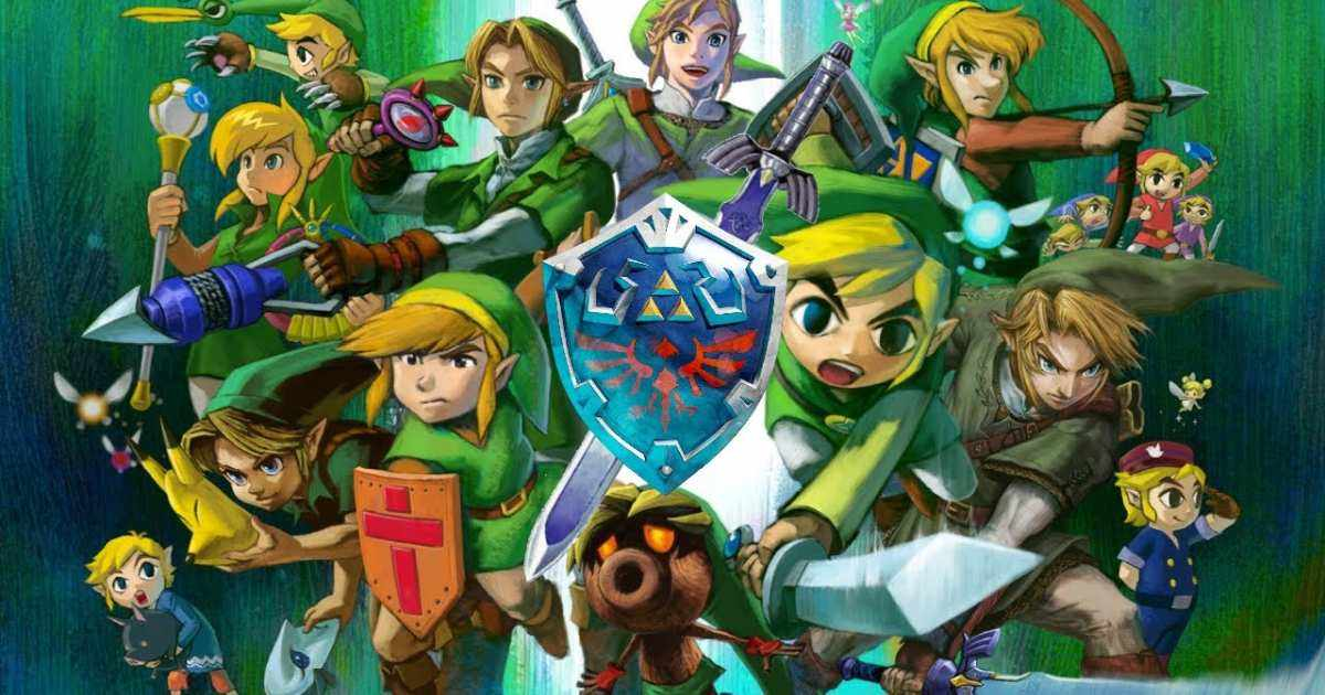 Nintendo the legend of zelda cover nintendo switch
