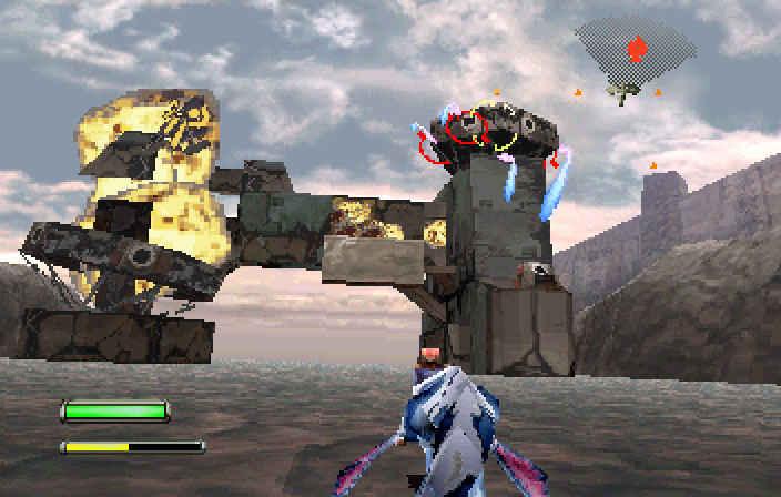 Panzer Dragoon sarà riproposto sulle console attuali, questo è uno screenshot del titolo originale.