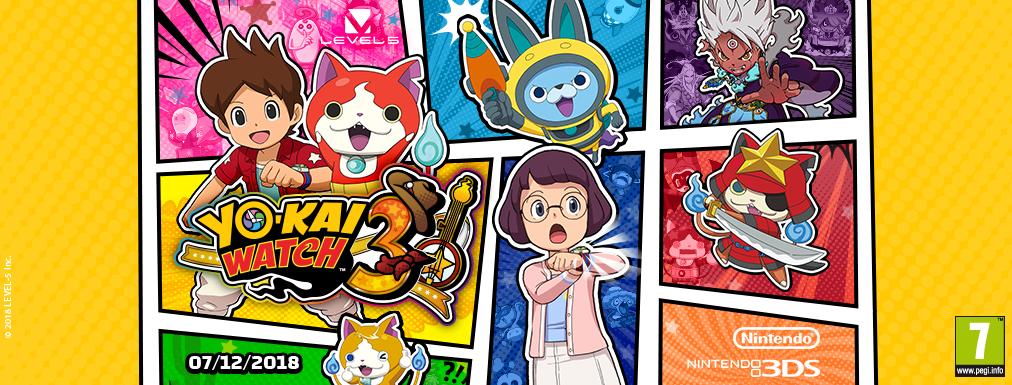 yokai watch3 ecco tutti i personaggi della serie