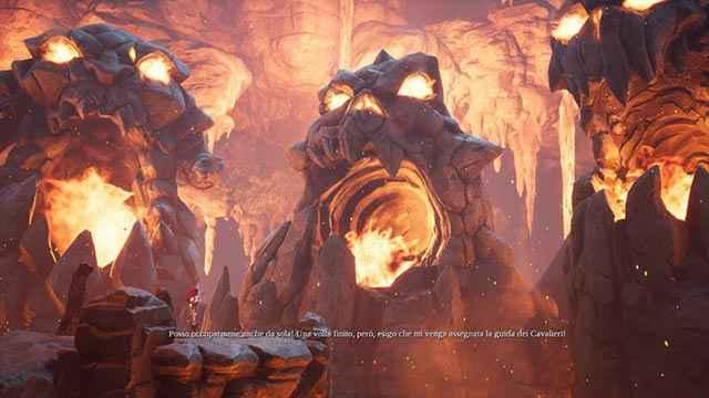 Furia viene convocata dall'Arso Consiglio in Darksiders 3