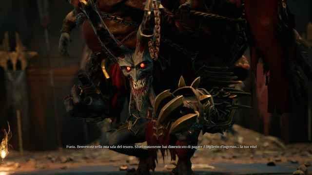 Il Peccato Capitale Avarizia, il collezionista di Darksiders 3