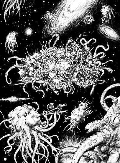 Azathoth, il dio folle che sogna l'universo secondo H.P. Lovecraft