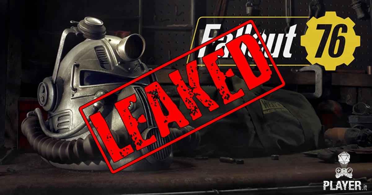Bethesda diffonde dati sensibili degli utenti di Fallout 76