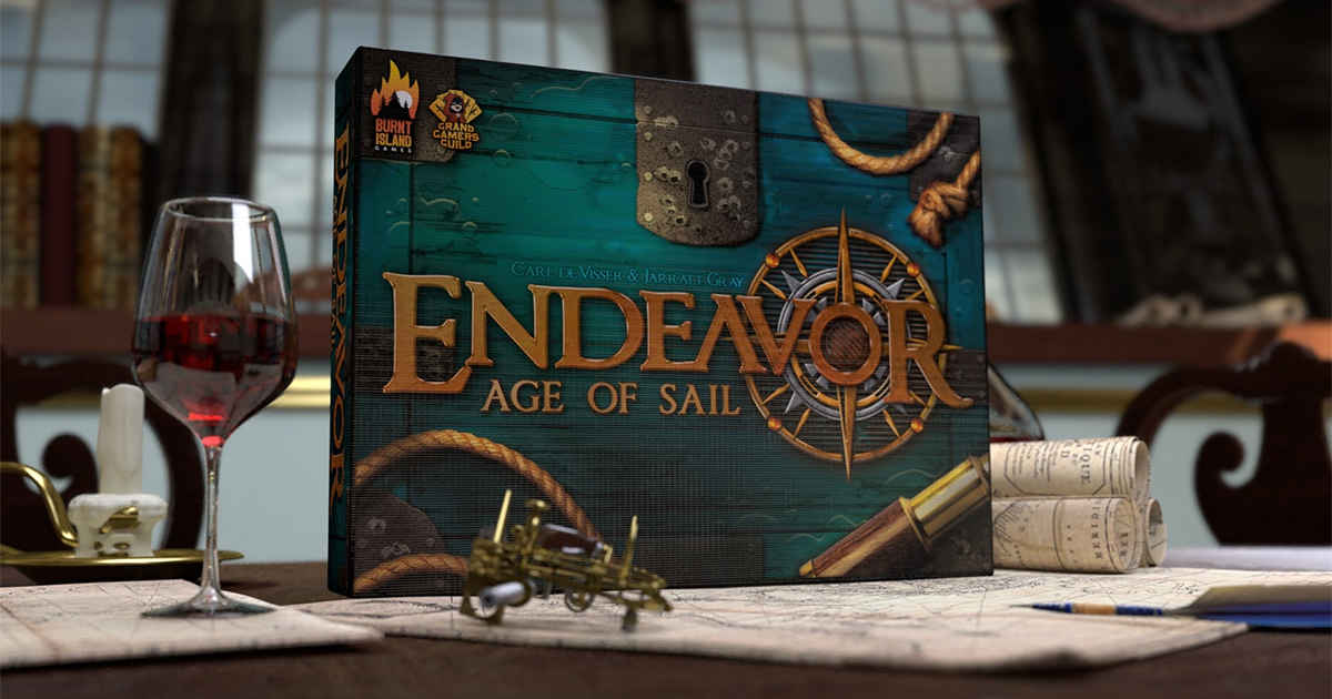 Endeavor Age of Sail - Copertina