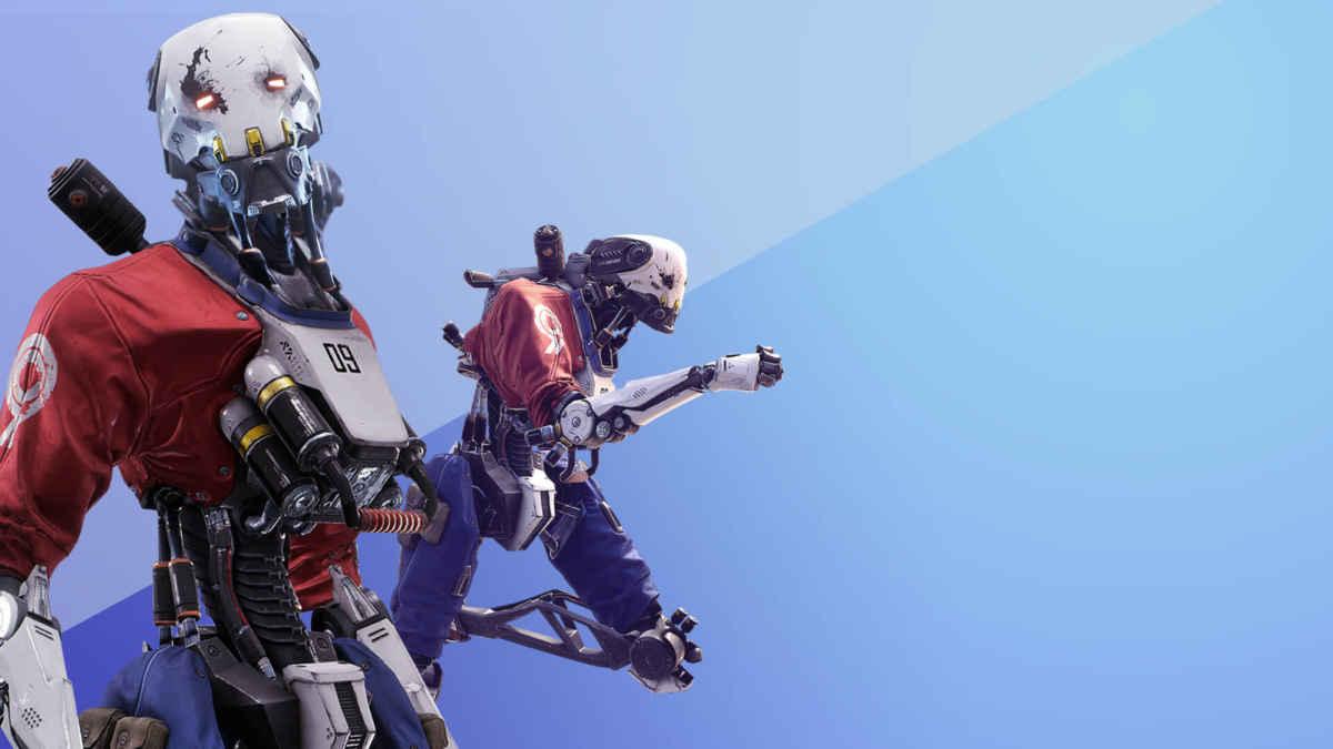 Immagine tratta da Robo Recall, titoli di Epic Games raffigurante un automa