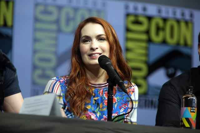 Felicia Day al San Diego Comic Con International del 2018