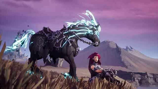 Il Cavaliere Furia e il suo nero destriero Distruzione