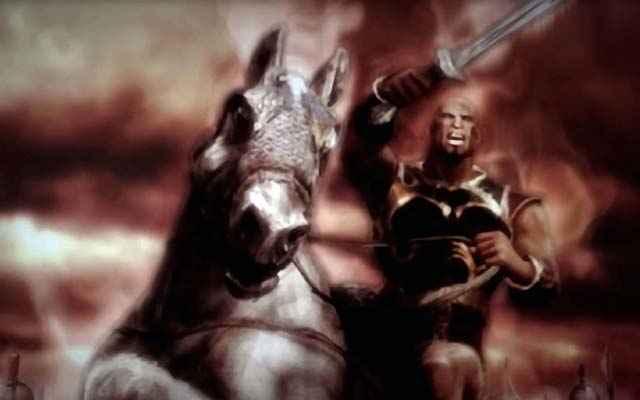 Il generale Kratos, quand'era ancora un mortale