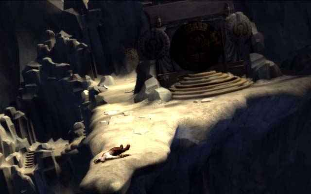 Il portale per l'Olimpo in God of War: Chains of Olympus