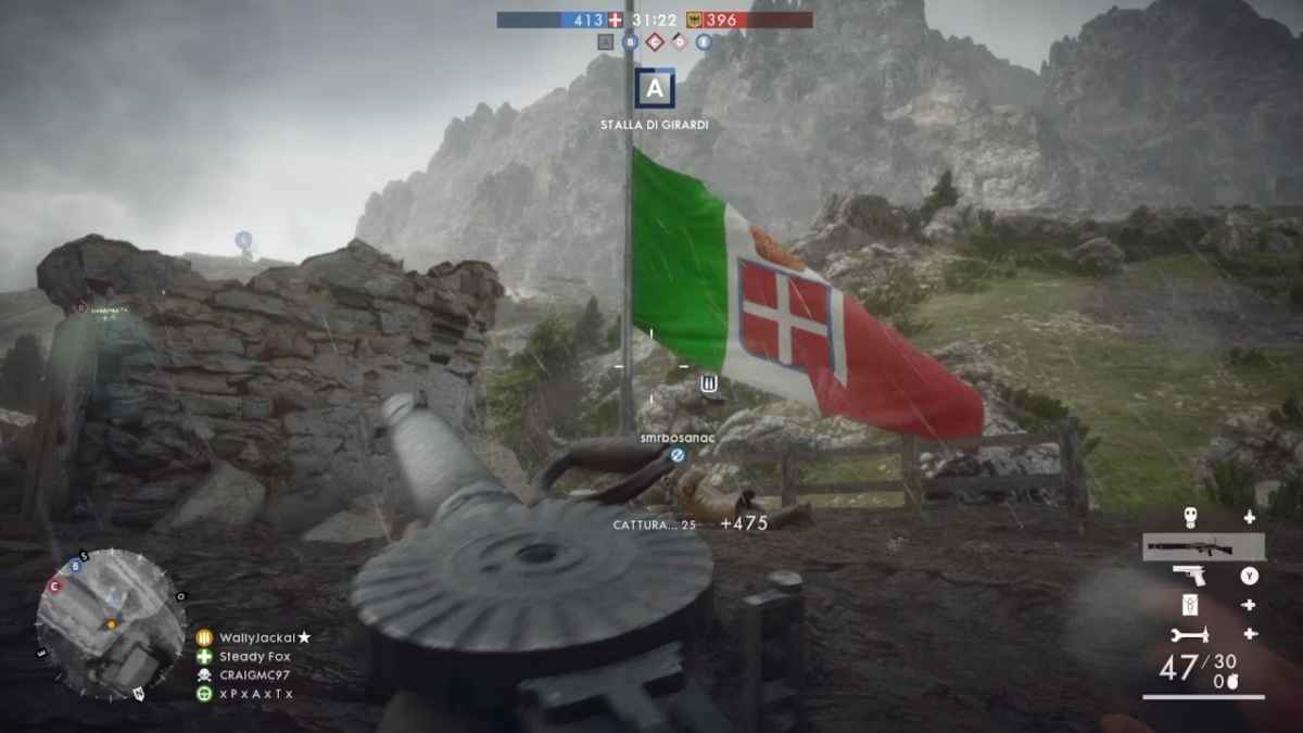 Italy&Videogames Battlefiled 1, la Grande Guerra - Avanti Savoia, Dolomiti