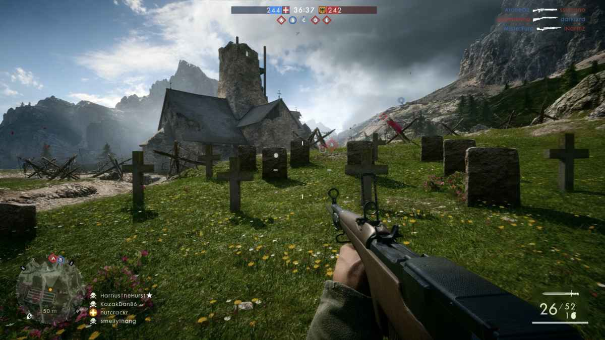 Italy&Videogames Battlefiled 1, la Grande Guerra - Chiesa di Sant'Anastasia