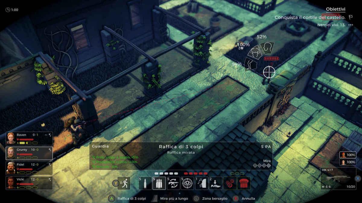 In Jagged Alliance Rage! ci troveremo di fronte ad un sistema di combattimento turn based