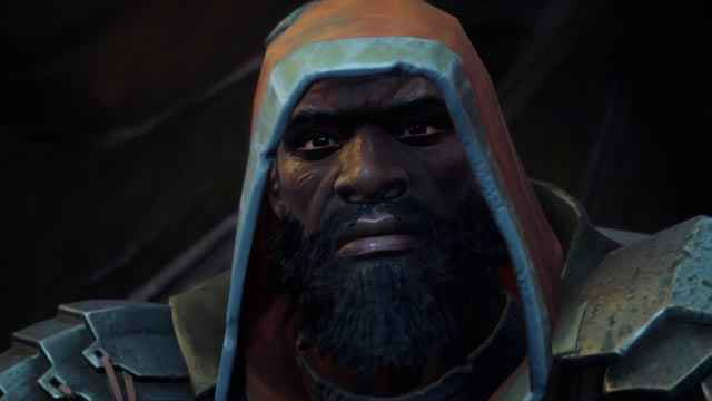 Jones in Darksiders 3, che poi scopriamo essere Conflitto