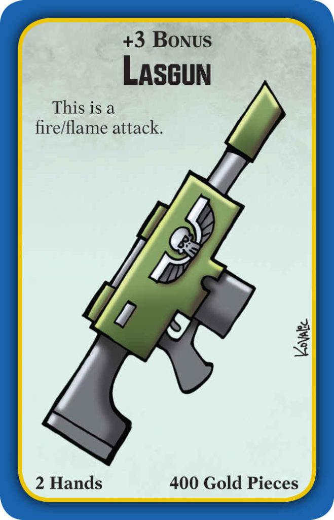 Lasgun di Munchkin Warhammer 40000