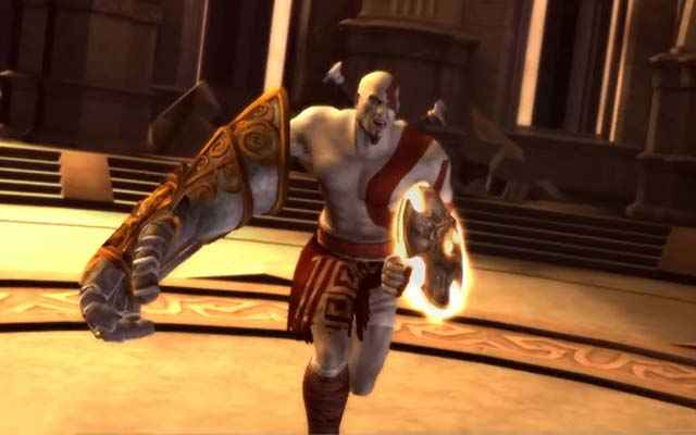 Lo Scudo del Sole e il Guanto di Zeus in God of War: Chains of Olympus