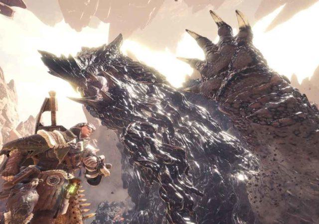 Screenshot da Monster Hunter World che mostra lo Zorah Magdaros