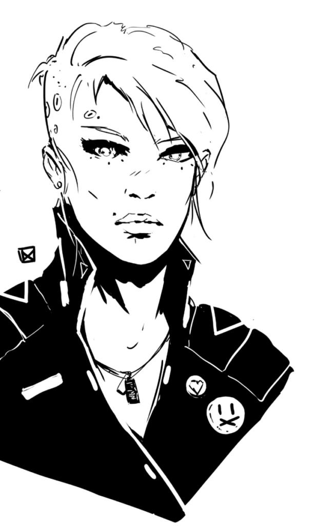 punk, immagine del manuale base del Monad System
