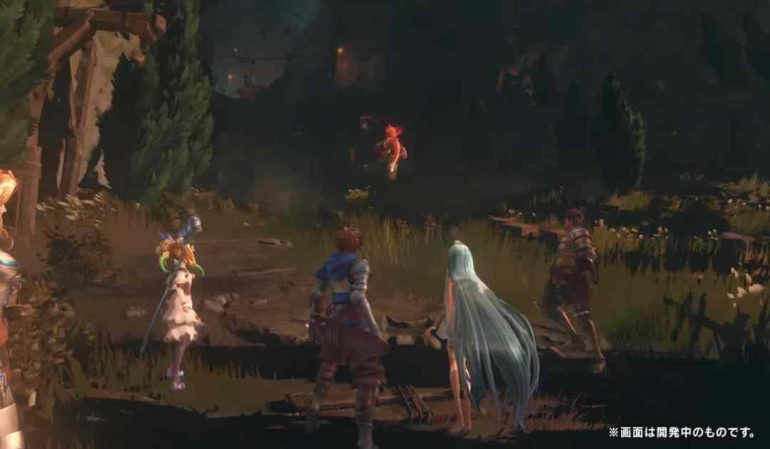 Screenshot dal video gameplay di Granblue Fantasy Project Re:Link che ritrae il party dei protagonisti