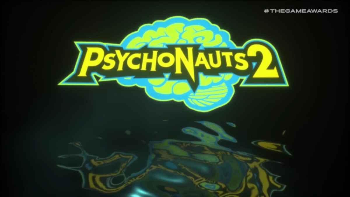 Immagine promozionale di Psychonauts 2, titolo di double fine e starbreeze presentato al The Games Awards 2018
