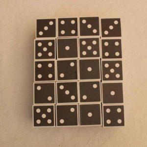 Puzzle Domino i dadi