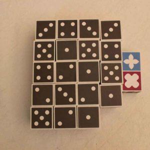 Puzzle Domino tutti i dadi