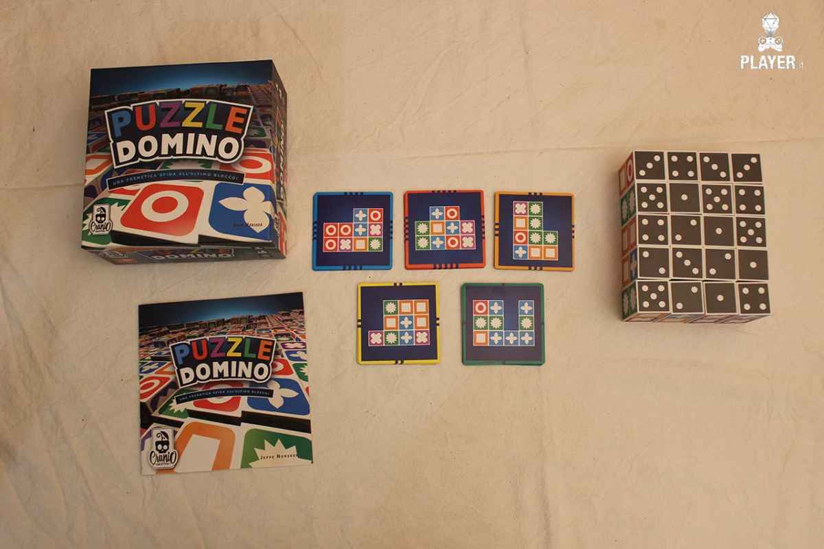 Puzzle Domino unboxing