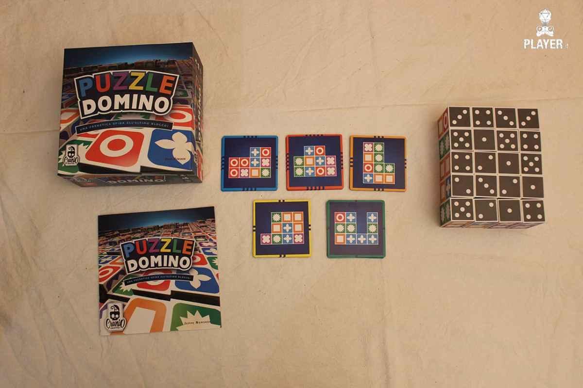 Puzzle Domino unboxing