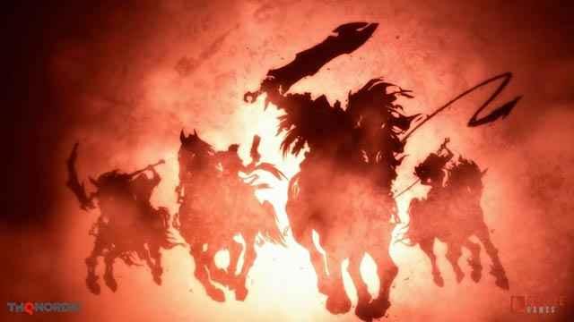 La cavalcata dei Quattro Cavalieri dell'Apocalisse di Darksiders 3