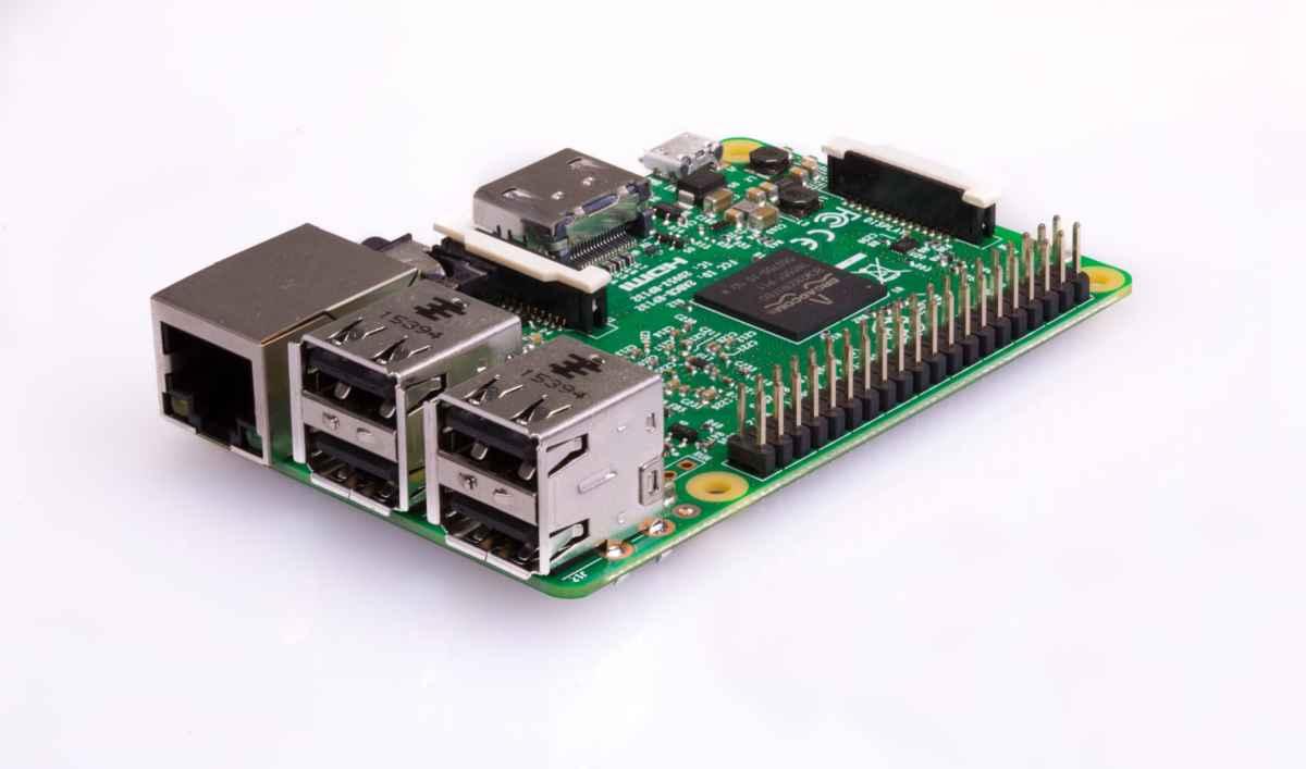 Fotografia del Raspberry Pi modello 3