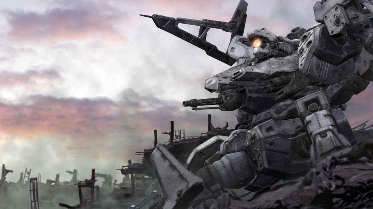 Concept Art di un mecha proveniente da Armored Core, storico franchise di From Software