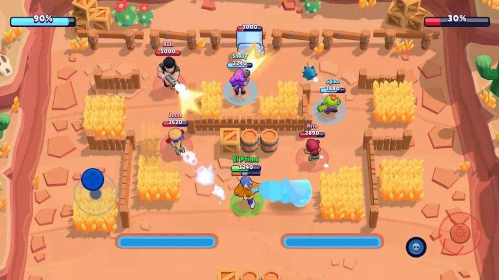 Ecco uno screenshot della modalità rapina di Brawl Stars, leggete questa guida per capire come vincere nella modalità rapina