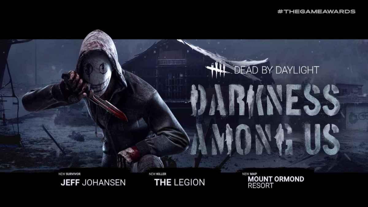 Immagine promozionale della nuova espansione di Dead By Daylight chiamata Darkness Among Us, presentata al The Game Awards 2018