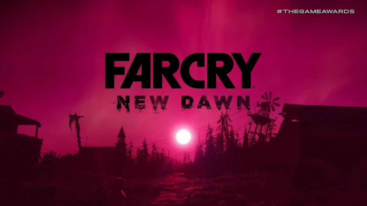 Logo Far Cry New Dawn, titolo presentato al The Game Awards 2018