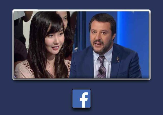 Matteo Salvini Gamer Filippina streaming diretta facebook