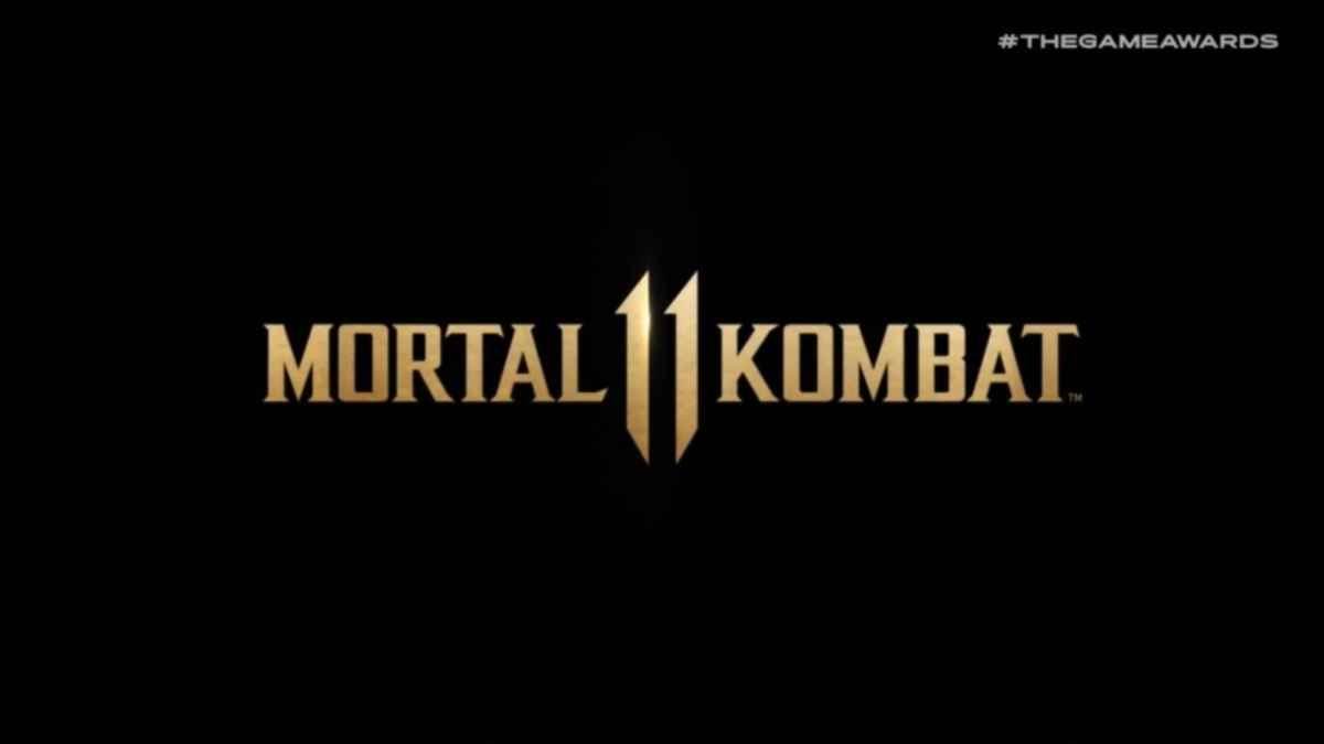Immagine promozionale di Mortal Kombat 11 mostrata al The Game Awards 2018