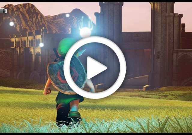 The Legend of Zelda Ocarina of Time remake di un fan realizzato con Unreal Engine 4