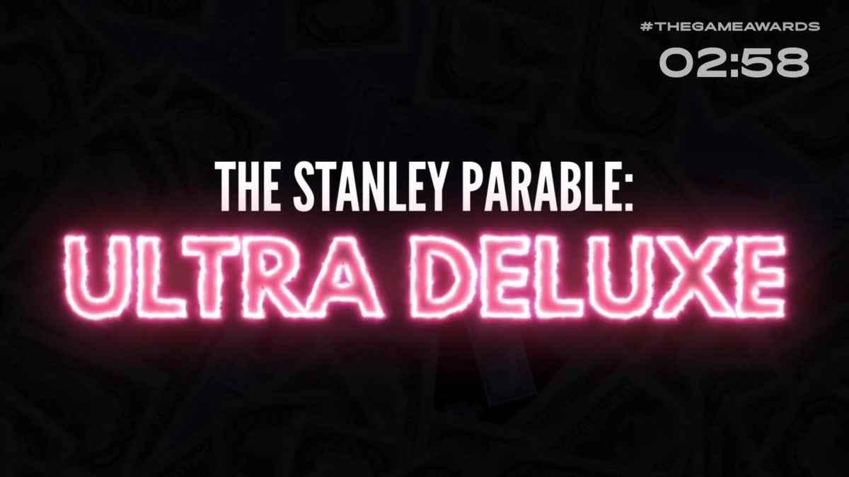 Logo di The Stanley Parable: Ultra Deluxe, il porting del titolo per console