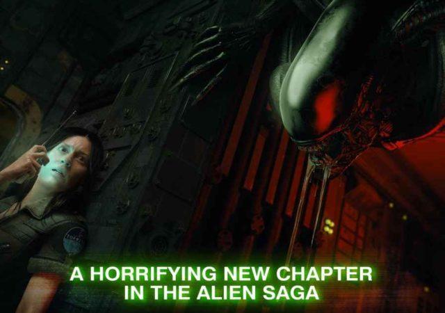 Immagine promozionale per Alien: Blackout, dove Amanda Ripley tenta di nascondersi dallo Xenomorfo